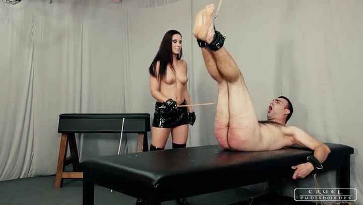 Mistress Anette In Scene: Kinky, brutal Anette Part 1 - CRUEL PUNISHMENTS - SEVERE FEMDOM - SD/406p/MP4