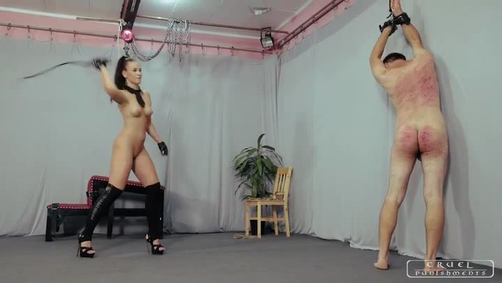 Mistress Anette In Scene: Brutally sexy Anette Part 2 - CRUEL PUNISHMENTS - SEVERE FEMDOM - SD/406p/MP4