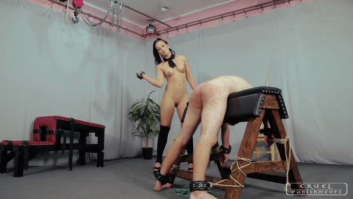 Mistress Anette In Scene: Brutally sexy Anette Part 1 - CRUEL PUNISHMENTS - SEVERE FEMDOM - SD/406p/MP4