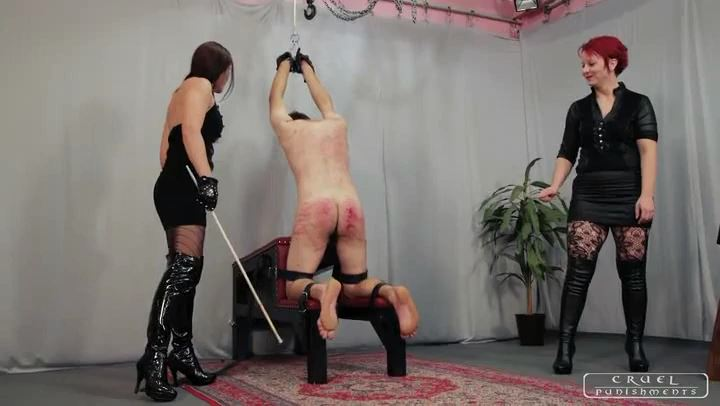 Mistress Anette, Mistress Maggie In Scene: Extremely cruel ladies Part 3 - CRUEL PUNISHMENTS - SEVERE FEMDOM - SD/406p/MP4