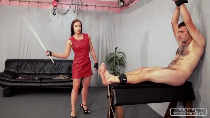 Mistress Anette In Scene: Severe pain Part 3 - CRUEL PUNISHMENTS - SEVERE FEMDOM - SD/406p/MP4
