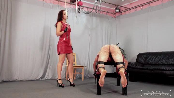 Mistress Anette In Scene: Severe pain Part 1 - CRUEL PUNISHMENTS - SEVERE FEMDOM - SD/406p/MP4