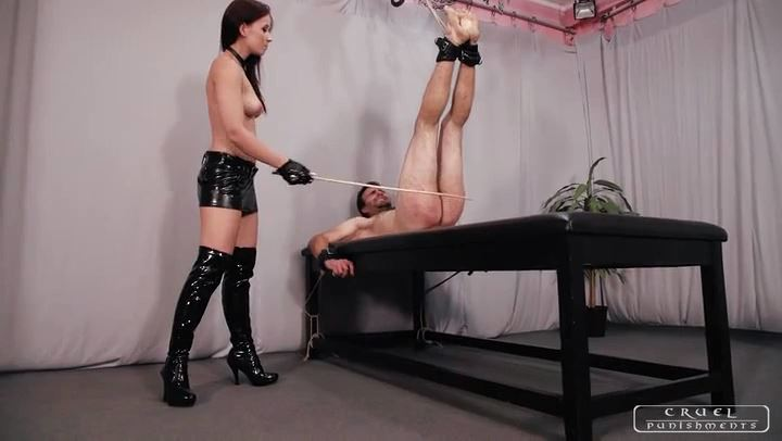 Mistress Anette In Scene: Anette's most brutal sessions Part 1 - CRUEL PUNISHMENTS - SEVERE FEMDOM - SD/406p/MP4