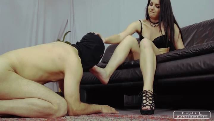 Mistress Kittina In Scene: Loving her pink toes - CRUEL PUNISHMENTS - SEVERE FEMDOM - SD/406p/MP4