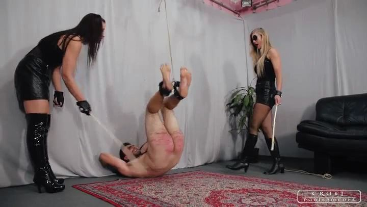 Mistress Anette, Mistress Bloodymary In Scene: Anette and Bloodymary Part 3 - CRUEL PUNISHMENTS - SEVERE FEMDOM - SD/406p/MP4