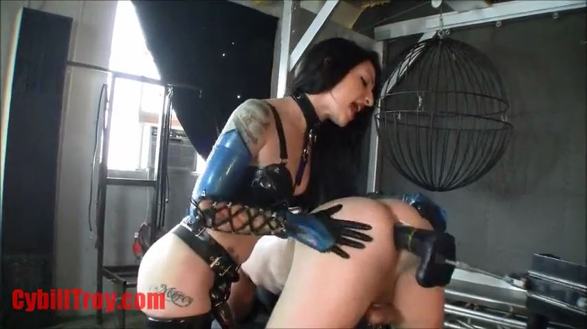 Mistress Cybill Troy In Scene: Fucking Machine Slut Training - CYBILL TROY`S DTLA DOMINAS / CYBILLTROY - SD/480p/MP4