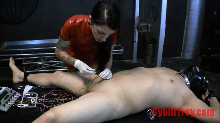 Mistress Cybill Troy In Scene: Stapled Into Chastity - CYBILL TROY`S DTLA DOMINAS / CYBILLTROY - SD/480p/MP4