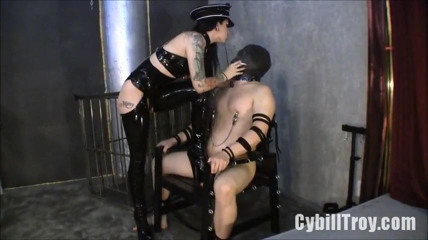 Mistress Cybill Troy In Scene: Cock Stomped Captive - CYBILL TROY`S DTLA DOMINAS / CYBILLTROY - SD/480p/MP4