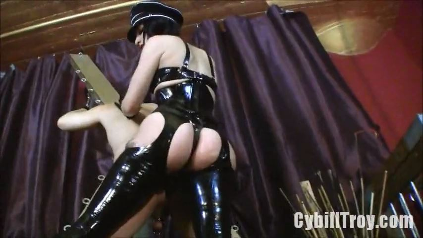 Mistress Cybill Troy In Scene: Ribbed for Her Pleasure - CYBILL TROY`S DTLA DOMINAS / CYBILLTROY - SD/480p/MP4