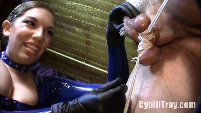 Elena De Luca In Scene: Needle Dick - CYBILL TROY`S DTLA DOMINAS / CYBILLTROY - SD/480p/MP4