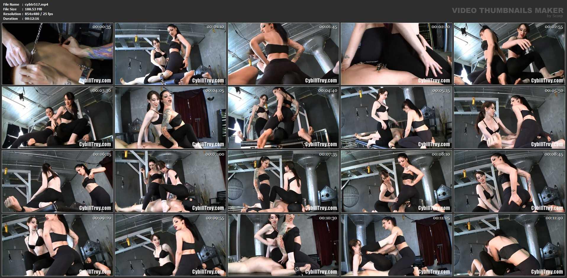 Mina Thorne, Cybill Troy In Scene: Spande Ass Overload - CYBILL TROY`S DTLA DOMINAS / CYBILLTROY - SD/480p/MP4