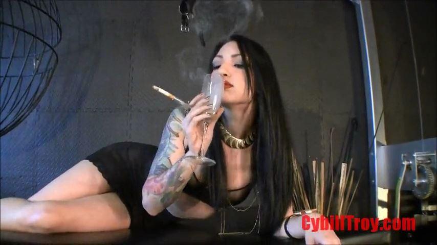 Mistress Cybill Troy In Scene: Swallow Cybill's Smoke & Ash - CYBILL TROY`S DTLA DOMINAS / CYBILLTROY - SD/480p/MP4