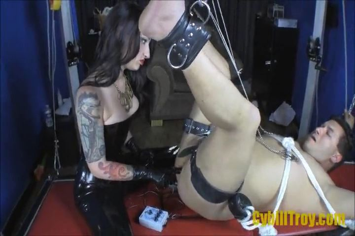 Mistress Cybill Troy In Scene: Electro-Fuck with Cybill Troy - CYBILL TROY`S DTLA DOMINAS / CYBILLTROY - SD/480p/MP4