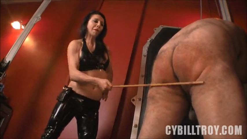 Mistress Cybill Troy In Scene: Caned by Mistress Alicia - CYBILL TROY`S DTLA DOMINAS / CYBILLTROY - SD/480p/MP4