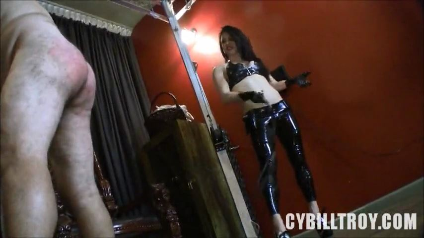 Mistress Cybill Troy In Scene: Alicia Whips Slave Ass - CYBILL TROY`S DTLA DOMINAS / CYBILLTROY - SD/480p/MP4