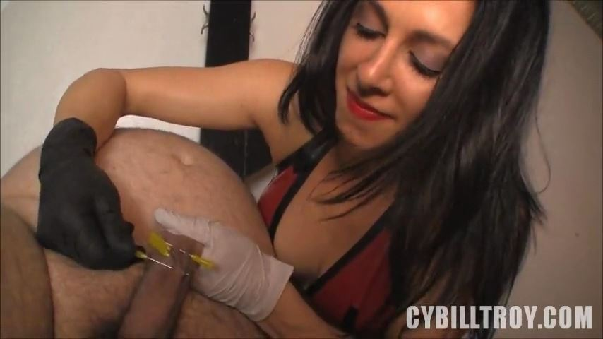 Mistress Cybill Troy In Scene: Skewered Cock Head - CYBILL TROY`S DTLA DOMINAS / CYBILLTROY - SD/480p/MP4