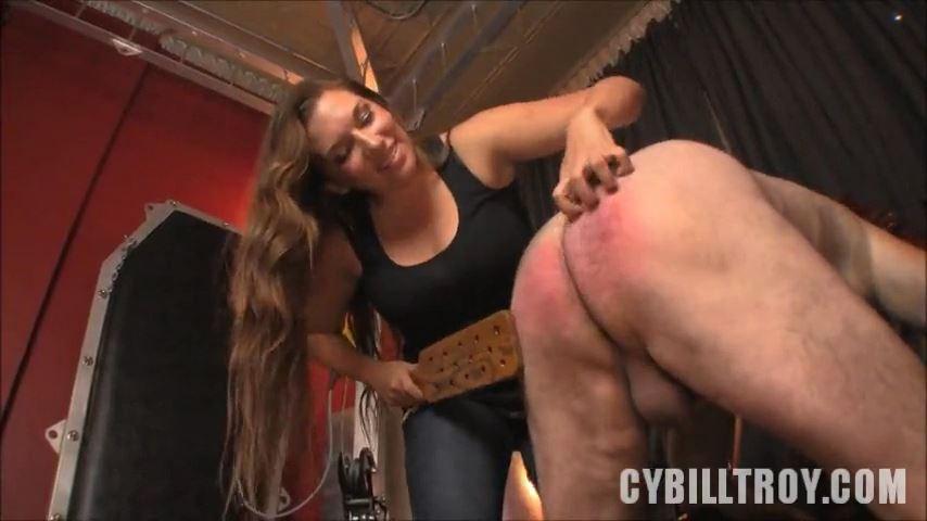 Mistress Cybill Troy In Scene: Gonzo Paddling - CYBILL TROY`S DTLA DOMINAS / CYBILLTROY - SD/480p/MP4