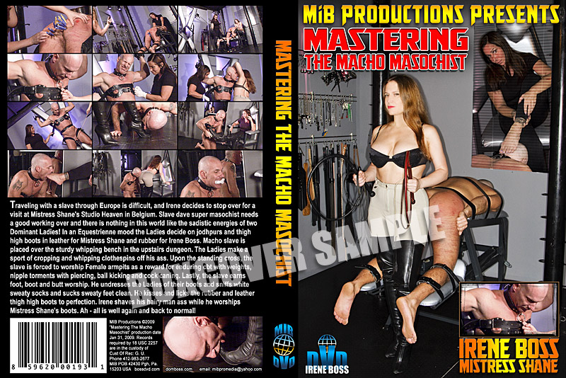 Domina Irene Boss In Scene: Mastering the Macho Masochist - DOMBOSS / MIB PRODUCTIONS - HD/720p/MP4