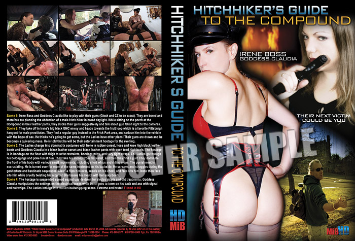 Domina Irene Boss In Scene: A Hitchhiker's guide to the Compound - DOMBOSS / MIB PRODUCTIONS - SD/480p/MP4