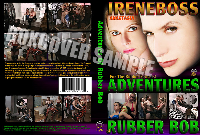Domina Irene Boss In Scene: The Adventures of rubber bob - DOMBOSS / MIB PRODUCTIONS - SD/480p/MP4