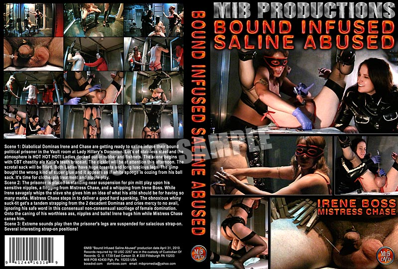 Domina Irene Boss In Scene: Bound Infused Saline Abused - DOMBOSS / MIB PRODUCTIONS - HD/720p/MP4