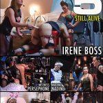 Mistress Persephone, Domina Irene Boss In Scene: Edwina 5 still alive – DOMBOSS / MIB PRODUCTIONS – HD/720p/MP4