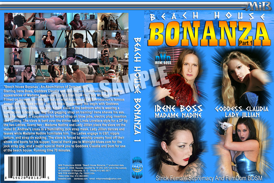 Domina Irene Boss In Scene: Beach House Bonanza Part 1 - DOMBOSS / MIB PRODUCTIONS - SD/480p/MP4