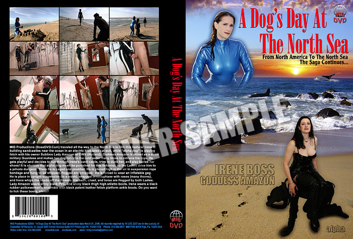 Lady Amazon, Domina Irene Boss In Scene: A dog's day at the North Sea - DOMBOSS / MIB PRODUCTIONS - SD/480p/MP4