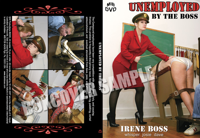 Domina Irene Boss In Scene: Unemployed by the Boss - DOMBOSS / MIB PRODUCTIONS - SD/480p/MP4