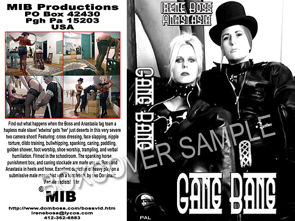 Domina Irene Boss In Scene: Gang Bang - DOMBOSS / MIB PRODUCTIONS - SD/480p/MP4