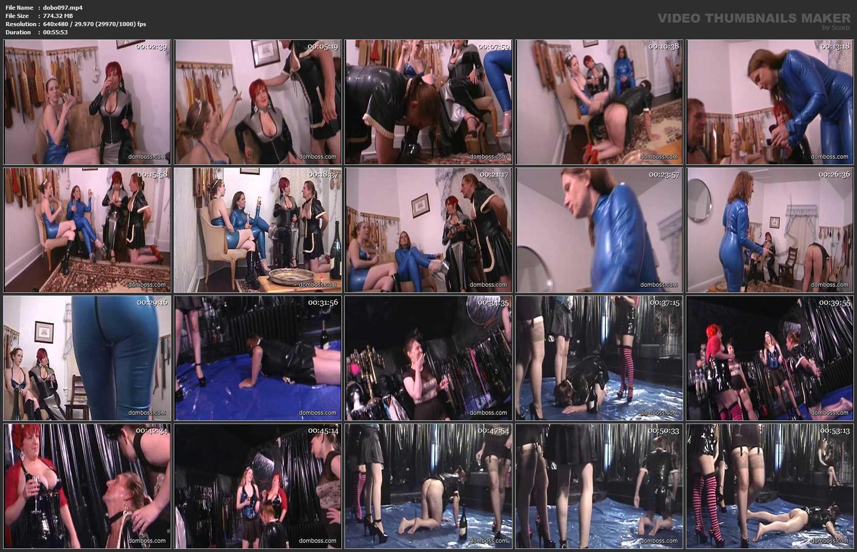 Mistress Kat, Princess Kali, Domina Irene Boss In Scene: Let it Rain - DOMBOSS / MIB PRODUCTIONS - SD/480p/MP4