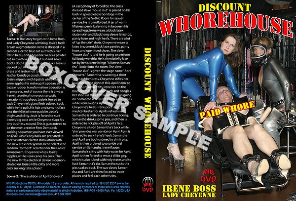 Lady Cheyenn, Domina Irene Boss In Scene: Discount Whorehouse - DOMBOSS / MIB PRODUCTIONS - SD/480p/MP4
