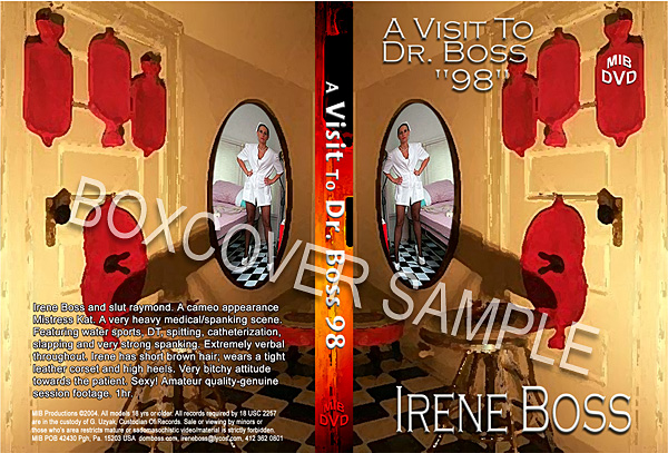 Domina Irene Boss In Scene: A visit to Dr Boss 1998 - DOMBOSS / MIB PRODUCTIONS - SD/480p/MP4