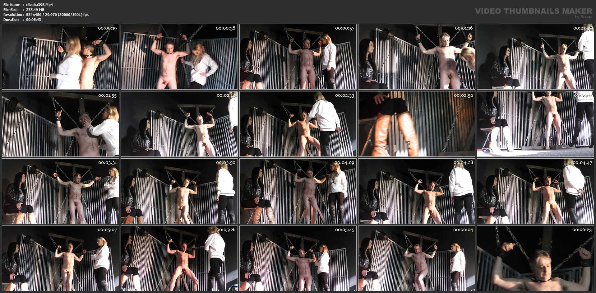 UK Mistress Elise In Scene: Shock And Awe - ELISE BULLIES BALLS UK - SD/480p/MP4