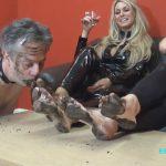 UK Mistress Elise In Scene: Stomping Through Mudd – ELISE BULLIES BALLS UK – HD/720p/MP4