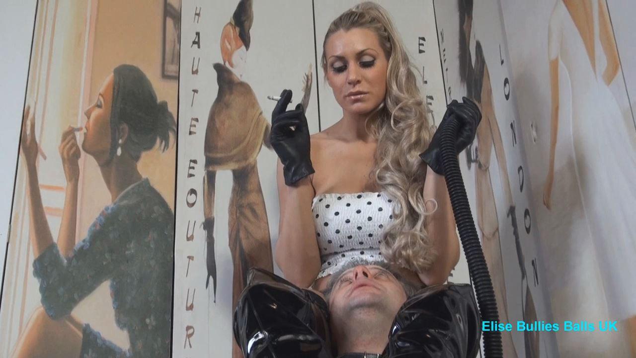 UK Mistress Elise In Scene: Swallow That Ash - ELISE BULLIES BALLS UK - HD/720p/MP4