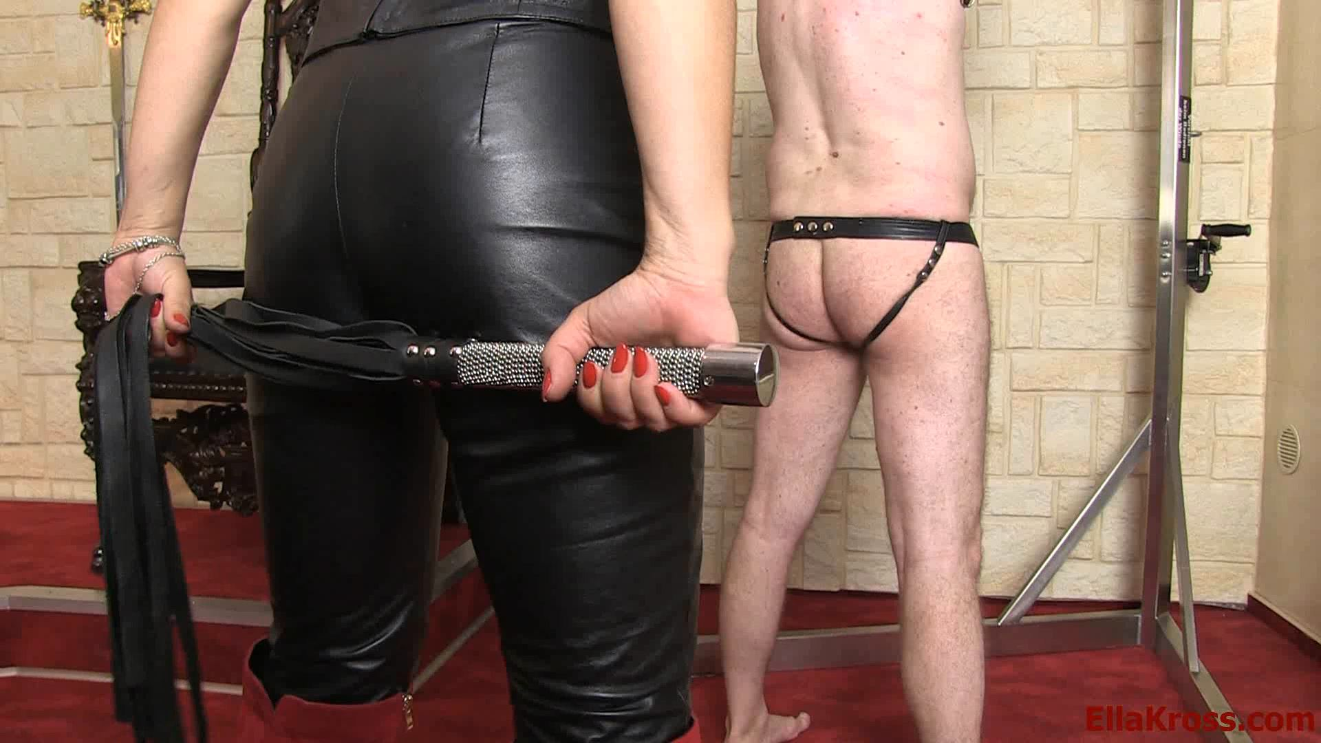 Ella Kross In Scene: Whipping My Slave Until He's Red - ELLAKROSS - FULL HD/1080p/MP4