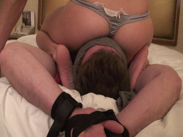 Tied,gagged,blinded,smothered and butt drops Part 2 - FEMDOMARMY - SD/480p/MP4