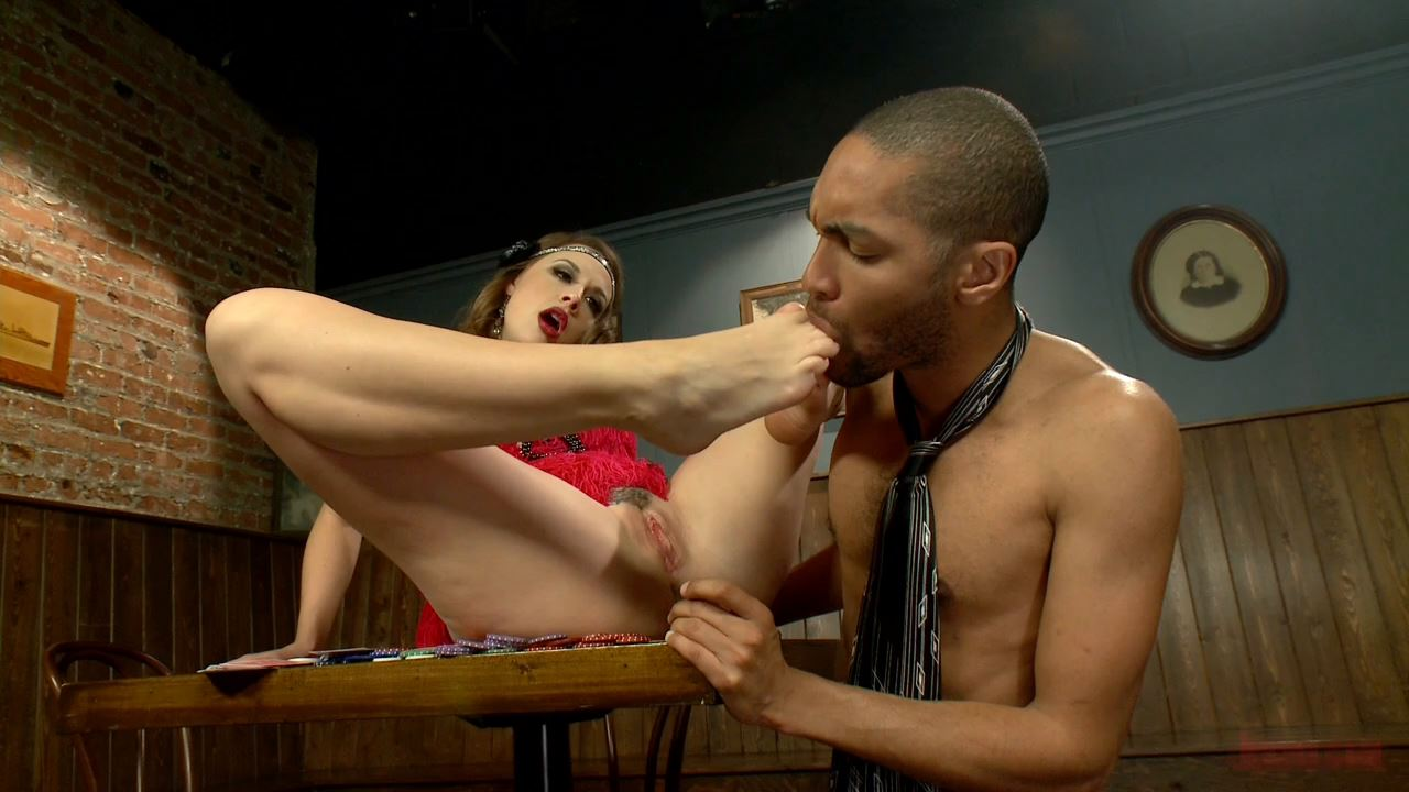 Chanel Preston In Scene: Luck Be a Lady With Smokin' Legs and FEET - FOOTWORSHIP / KINK - HD/720p/MP4