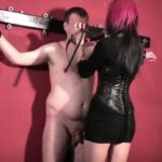 Domina Estelle In Scene: Nipple torture on the cross – DEUTSCHE DOMINAS / GERMANY FEMDOM – SD/404p/MP4