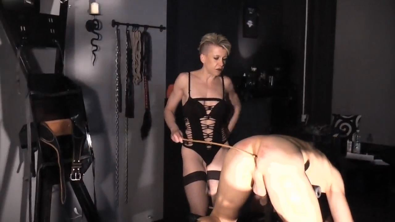 Mademoiselle Etienne In Scene: CANING - DEUTSCHE DOMINAS / GERMANY FEMDOM - HD/720p/MP4