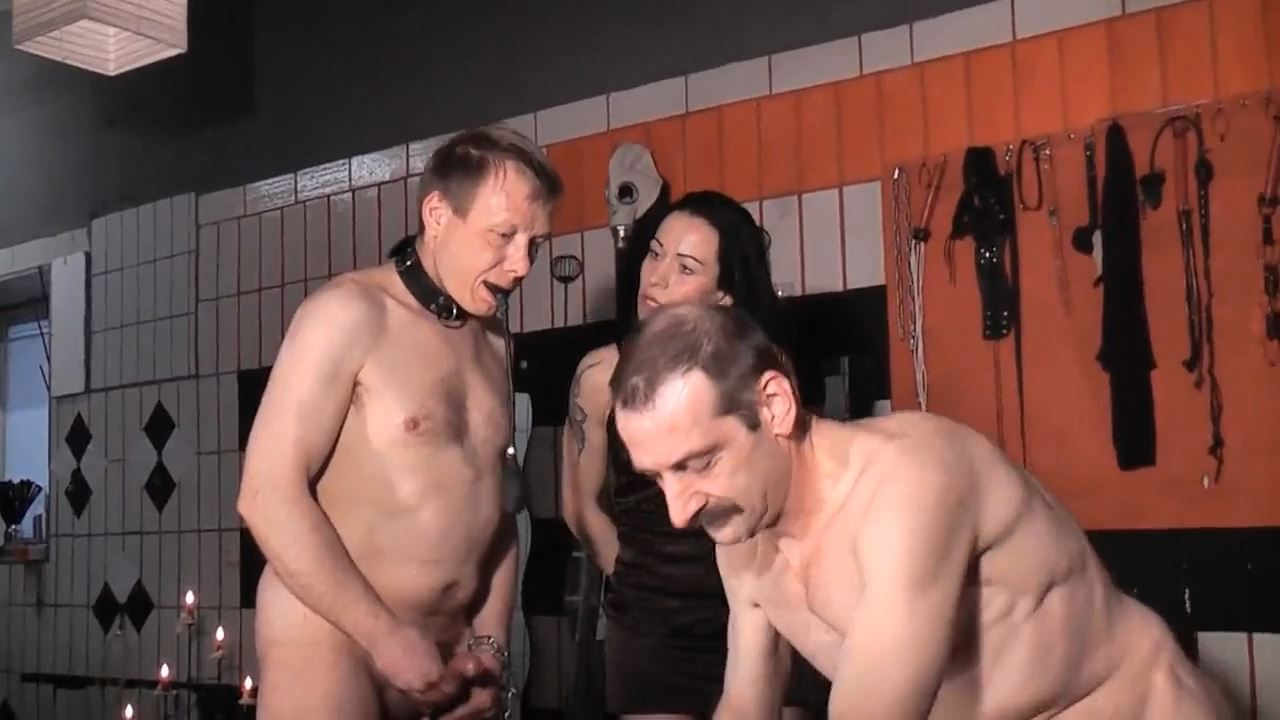 Senora el Combatiente In Scene: Extremely cum sprayed in the mouth - DEUTSCHE DOMINAS / GERMANY FEMDOM - HD/720p/MP4