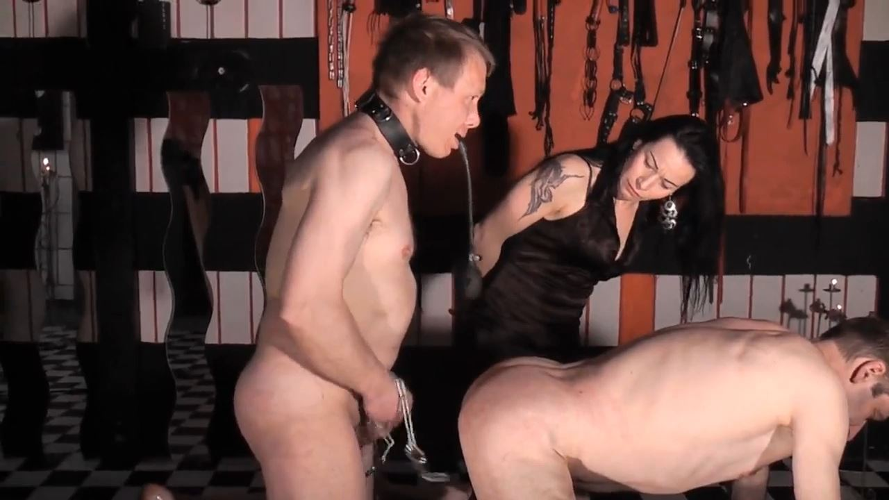 Senora e Combatiente In Scene: Extremely Perverted Slaves Double - DEUTSCHE DOMINAS / GERMANY FEMDOM - HD/720p/MP4