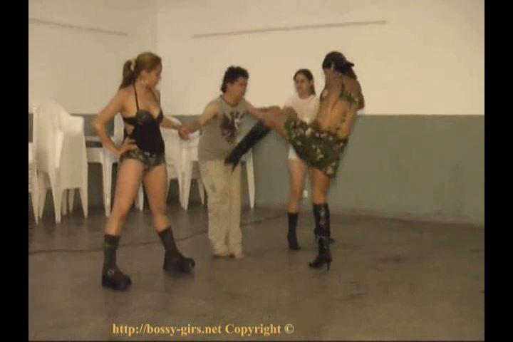 Rude Girls 01 Kick them around - BOSSY-GIRLS / GIRLSDOMINATION - SD/480p/MP4