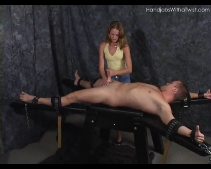 Tied Down and Forced to Cum - HANDJOBSWITHATWIST - SD/576p/MP4