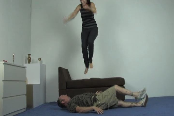 Amelia enjoys getting the most out of losers that wish to serve her - HEADUNDERHEELS - SD/480p/MP4