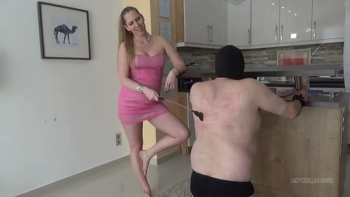 Lady Cruella In Scene: UNLUCKY TEACHER - CRUEL SPANKING - LADY CRUELLAS GAMES - SD/406p/MP4