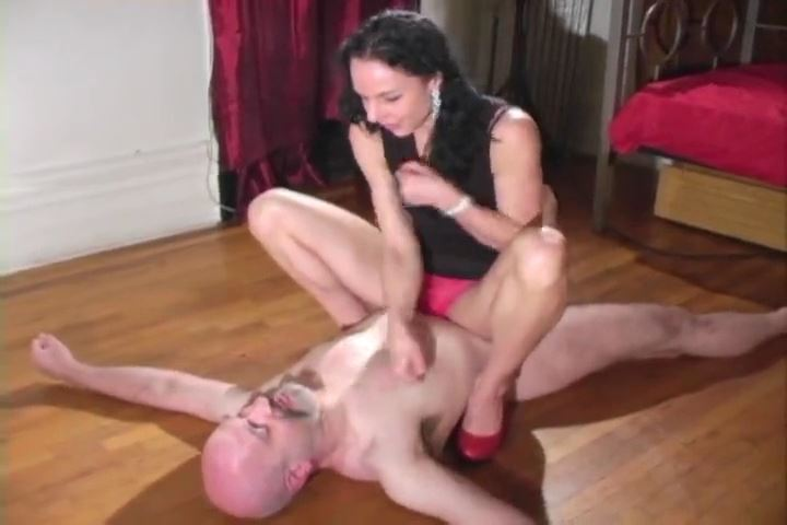No Match for Her Muscles - MISTRESS TRISH - SD/480p/MP4