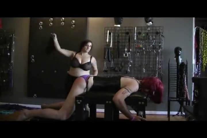 Mistress Xena In Scene: Flogging Justine - BIZARRE CINEMA - SD/480p/MP4