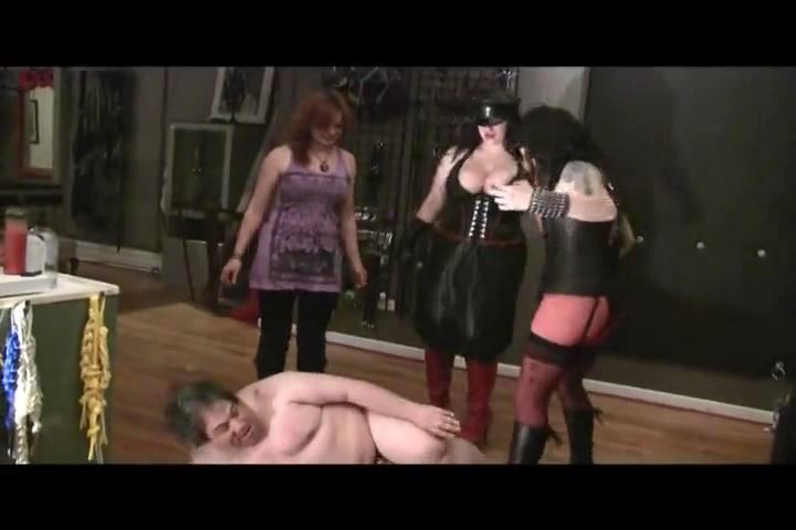 Mistress Xena In Scene: 3 Dommes & a Doofus Part 3 - BIZARRE CINEMA - SD/480p/MP4